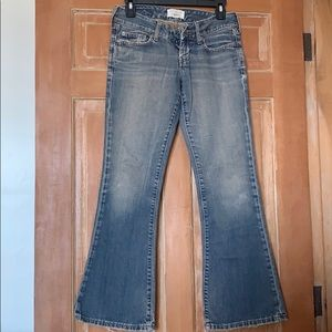 Preowned Abercrombie and Fitch jeans size 00s